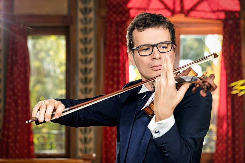 Alexandru Tomescu vioara Stradivarius